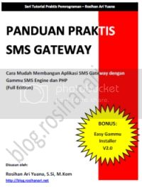 Panduan Praktis SMS Gateway dengan PHP dan Gammu