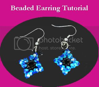 Beaded Earring Tutorial
